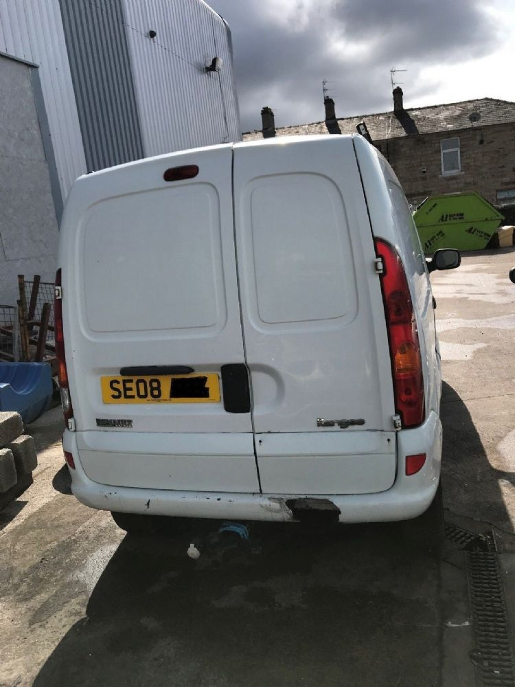 RENAULT KANGOO 2008 BREAING CAR ONLY